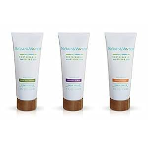 Luxurious Hand Cream Trio Gift Set - Citrus & Sage, Lavender & Mint ...