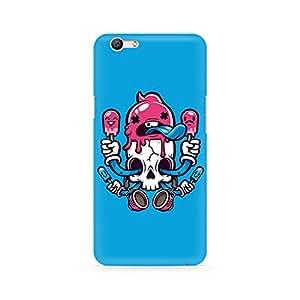 Ebby Skull Cream Premium Printed Case For Oppo F1S