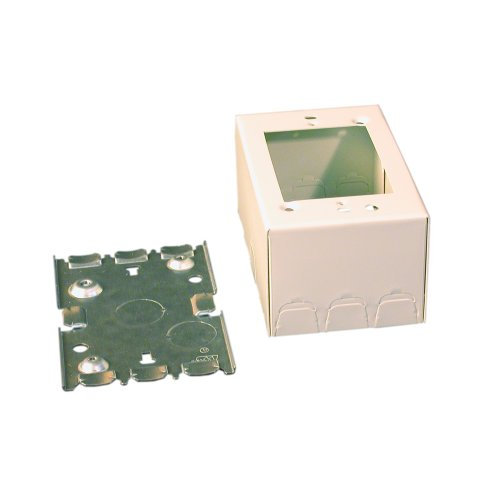 Wiremold/Legrand V5747 Shallow Switch And Receptacle Box