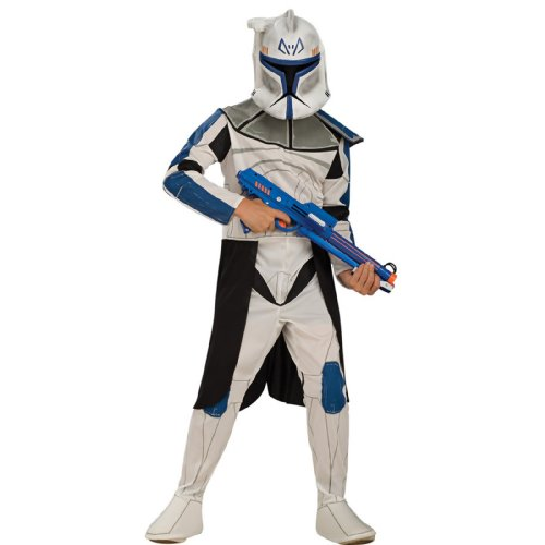 Star Wars Clone Wars Clone Trooper Child's Captain Rex Costume, Large