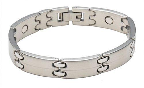 Sabona Executive Sport Silver Magnetic Bracelet, Size S