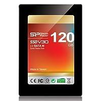 シリコンパワー2.5インチSSD高速転送SATA3準拠6Gb/s120GBSandForceコントローラー採用SP120GBSSDV30S25