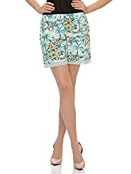 Clovia Women Funky Beachy Shorts With Cute Laces