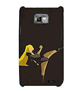 Ebby Premium Printed Mobile Back Case Cover With Full protection For Samsung Galaxy S2 i9100 (Designer Case)