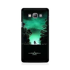 Mobicture Animal Premium Designer Mobile Back Case Cover For Samsung On 5