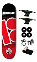 Plan B Ryan Sheckler Contest Series Skateboard Deck Complete 8.25 Black Trucks Black Wheels from Plan B