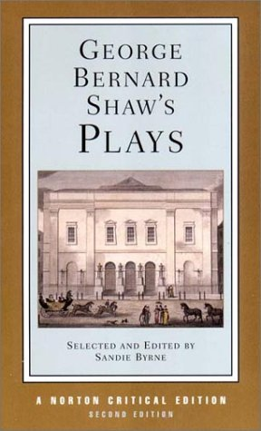 George Bernard Shaw's Plays (Norton Critical Editions)