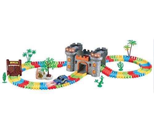 children-kids-fun-car-flexible-castle-variable-track-set-158-pcs-led-light-battery-operated-racing-g