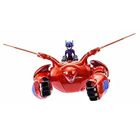 Big Hero 6 Baymax Deluxe Flying Action Figure by Bandai