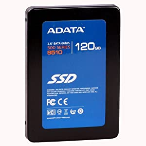 ADATA S510 120 GB SATA III SandForce 6 GB/Sec 2.5-Inch Solid State Drive AS510S3-120GM-C