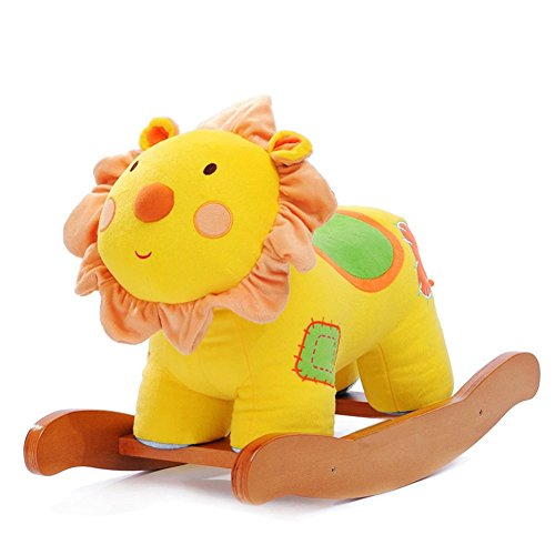 Hessie 1-3 Years Baby Musical Lion Rocking Horse front-294117