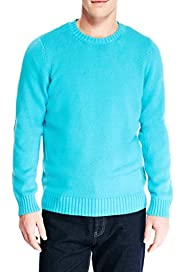 Blue Harbour Pure Cotton Crew Neck Jumper [T30-2800B-S]