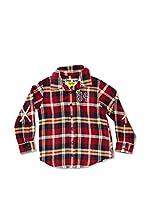 Desigual Camisa Niño Diagonal (Rojo)