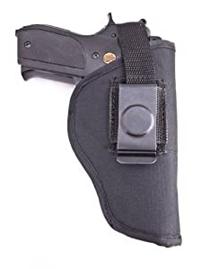 Outbags OB-03L (LEFT) Nylon IWB Conceal & OWB Open Combo Carry Gun Holster for S&W M&P 9 / 22 / 40 / 45, S&W 357 / 5904 / 4013 / SD9, Springfield XD40 / XD45, Sig Sauer 1911-22 / P226, and More