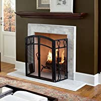 Charlotte 72-Inch Wood Fireplace Mantel ...
