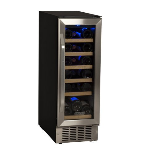 Purchase EdgeStar 18 Bottle Built-In Wine Cooler - Black/Stainless Steel