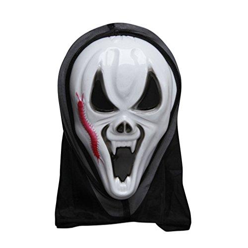 [Evil's Fury Mask Costume Mask Halloween Mask] (Smiley Horror Mask)