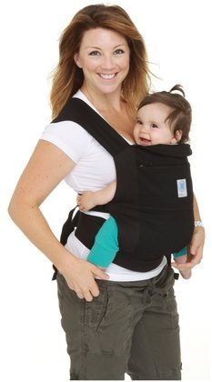 Moby Soft Structured Baby Carrier-Black front-475603