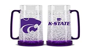 NCAA Kansas State Wildcats Crystal Freezer Mug