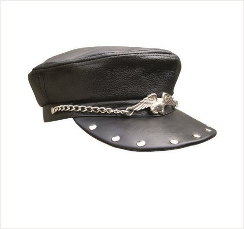 unisex-adult-al3229-biker-cap-one-size-black-by-allstate-leather