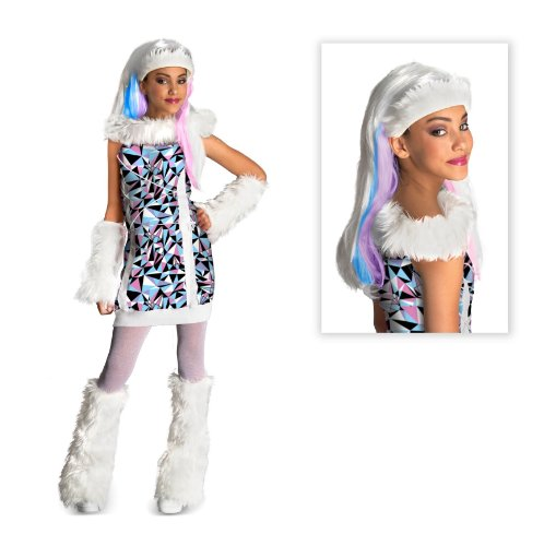 Monster High Abbey Bominable Child Costume with Wig - Medium (8-10)
