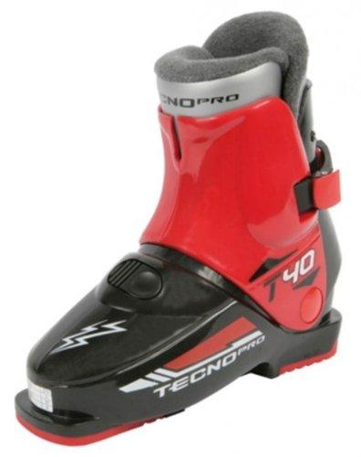TECNOPRO Ski-Stiefel T40, schwarz/rot,24