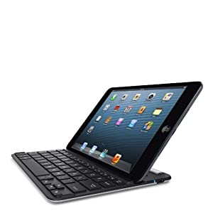 Belkin QODE FastFit Bluetooth Keyboard and Case for iPad mini and iPad mini with Retina Display (Black/Silver)