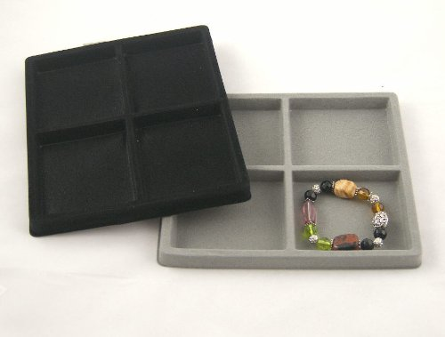 4 Compartment Tray/Case Insert (BM97-04) - half size