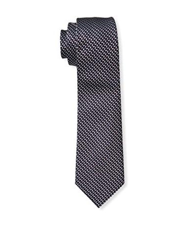 Valentino Men's Patterned Tie, Purple/Blue Multi