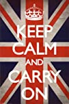 Keep Calm and Carry On Poster Poster Print 2421536