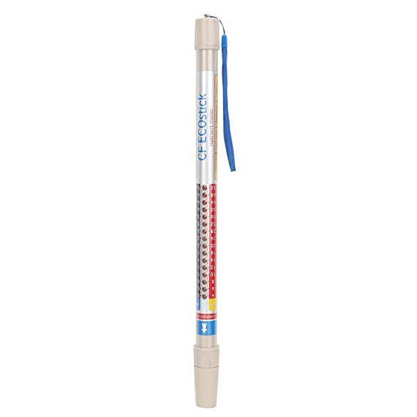 Water Quality Test Meter, Portable Nutrient Meter Test Nutra Wand Truncheon Hydroponic EC/PPM/CF Hydroponics Readers for Home Health