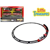 Little Treasures Steam Locomotive Train Set With Light And Sound Watch Your Little Munching Play And Have Fun...