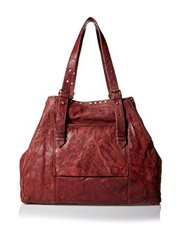Joelle Hawkens Women's Jerome Tote Bag, Oxblood