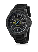 VR46 Valentino Rossi VR1 by TW Steel Reloj con movimiento Miyota Vr8 Negro 45  mm