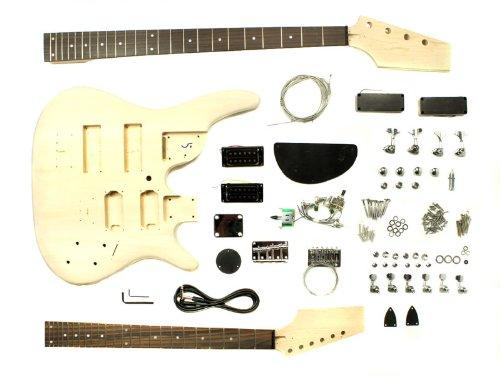 stellah kit guitare 233 lectrique et basse 224 monter soi m 234 me caisse packs guitare 233 lectrique