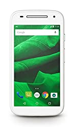 Republic Wireless Moto E (2nd Gen) - 8 GB No Contract Phone - Carrier Packaging - White