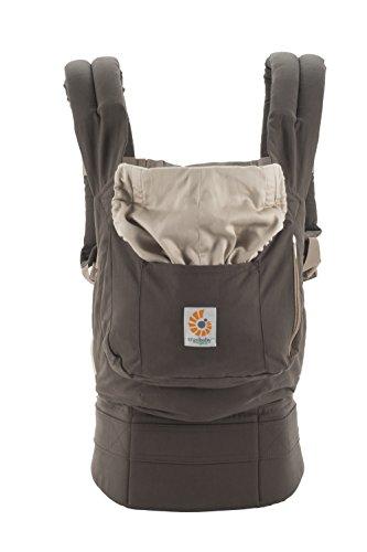 Ergobaby Organic 3 Position Baby Carrier Dark Cocoa (Ergobaby Organic Baby Carrier compare prices)