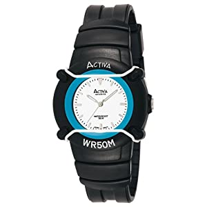 Activa By Invicta Midsize AV394-015 Casual Black Analog Watch