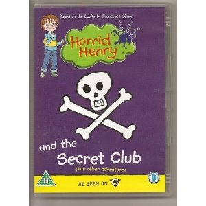 Horrid Henry & the Secret Club [DVD] [Import]