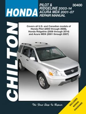 honda-pilot-ridgeline-acura-mdx-chilton-automotive-repair-manual