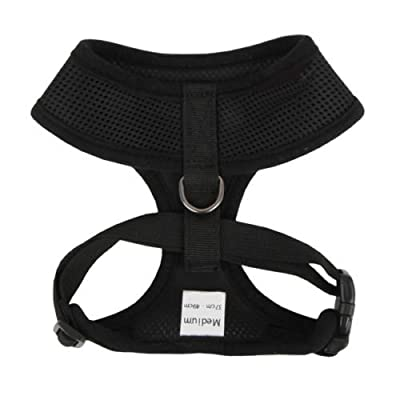Jazooli Adjustable Soft Fabric Dog/Puppy Harness Lead