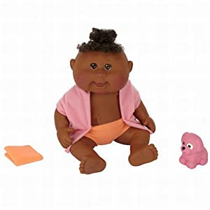 Amazon.com: Cabbage Patch Kids Dirty to Clean Newborn Doll - African