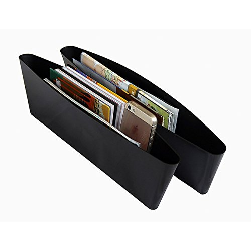 Catch Caddy Car Seat Catcher Magic Box Car Organizer (Set Of 2) Side Gap Pocket For Wallet, Phones Maps Cash & Glasses-Spacious Best Car Storage (Car Side Catcher compare prices)