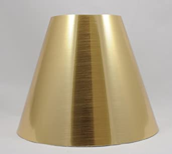 gold metallic chandelier lamp shades 6 inch clip on. Black Bedroom Furniture Sets. Home Design Ideas