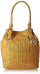 Carlton London Women's Handbag (Yellow) (CLLP-115)