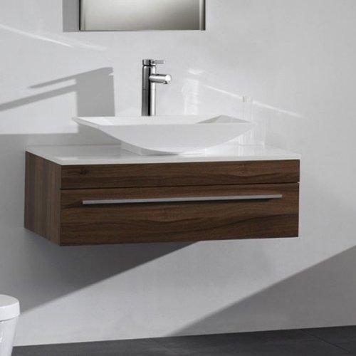 Vasque poser la grande classe pour pas cher avis for Meuble lavabo suspendu pas cher