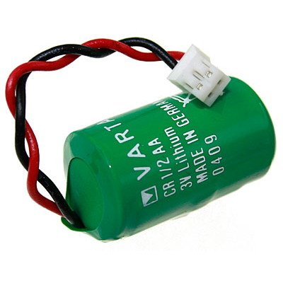 Batterie Varta CR1 / 2AA Lithium avec câble, 950mAh