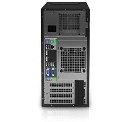 Newest Dell Flagship PowerEdge T20 tower Server System| Intel Xeon E3-1225 v3 3.2GHz Quad Core| 8GB RAM | 1TB HDD| DVD RW | No Operating System | Black