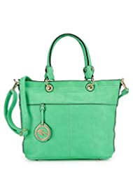 Basta Women's Hand-held Bag (Green)