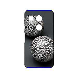 BLUEDIO Designer 3D Printed Back case cover for LG Nexus 5X - G6132